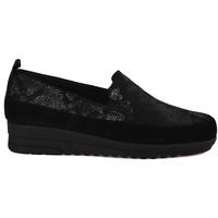 kengät Naiset Mokkasiinit Grunland SC3980 Musta