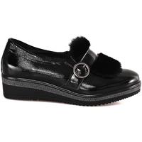 kengät Naiset Mokkasiinit Grunland SC3148 Musta