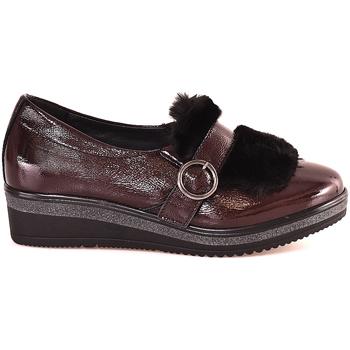 kengät Naiset Mokkasiinit Grunland SC3148 Punainen