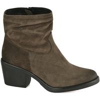 kengät Naiset Nilkkurit Mally 5341 Vihreä