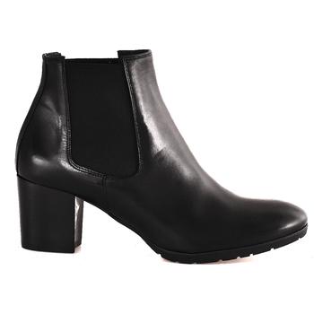 kengät Naiset Nilkkurit Mally 6418 Musta