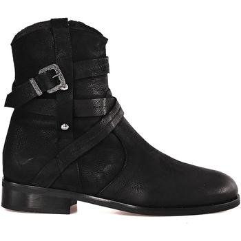 kengät Naiset Nilkkurit Mally 6431 Musta