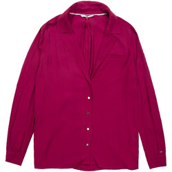 vaatteet Naiset Paitapusero / Kauluspaita Tommy Hilfiger DW0DW05233 Violetti