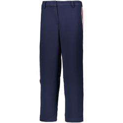 vaatteet Naiset Chino-housut / Porkkanahousut Tommy Hilfiger DW0DW05315 Sininen