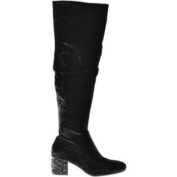 kengät Naiset Saappaat Elvio Zanon I1903B Musta