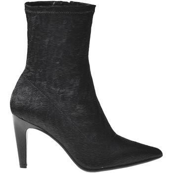 kengät Naiset Nilkkurit Elvio Zanon I2906X Musta