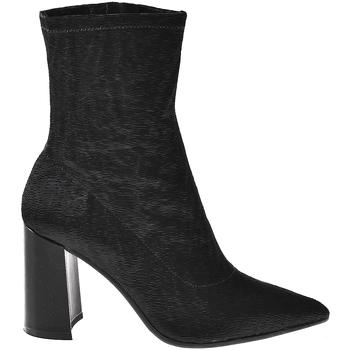 kengät Naiset Nilkkurit Elvio Zanon I3104X Musta
