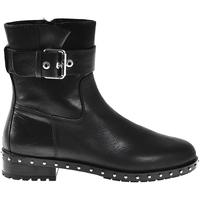 kengät Naiset Nilkkurit Elvio Zanon I6201N Musta
