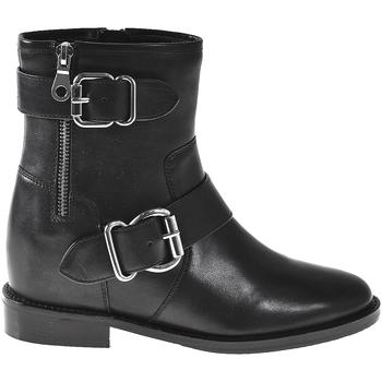 kengät Naiset Nilkkurit Elvio Zanon I7005N Musta