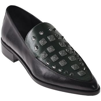 kengät Naiset Mokkasiinit Elvio Zanon I7703G Musta