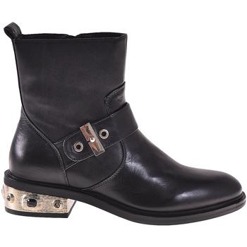kengät Naiset Nilkkurit Elvio Zanon I8405P Musta