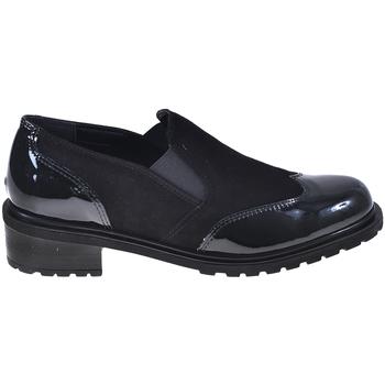 kengät Naiset Mokkasiinit Grunland SC4094 Musta