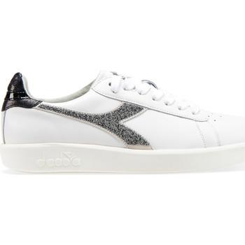 kengät Naiset Matalavartiset tennarit Diadora 201.173.888 Valkoinen