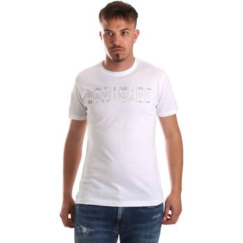 vaatteet Miehet Lyhythihainen t-paita Navigare NV31081 Valkoinen