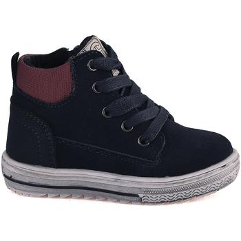 kengät Lapset Korkeavartiset tennarit Grunland PP0352 Sininen