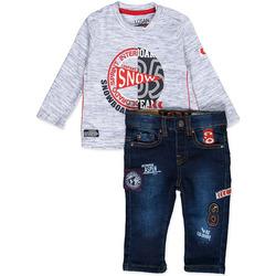 vaatteet Pojat Kokonaisuus Losan 827-8013AC Sininen