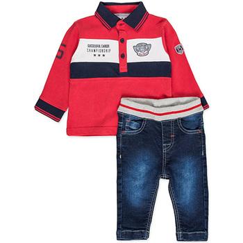 vaatteet Pojat Kokonaisuus Losan 827-8032AC Punainen