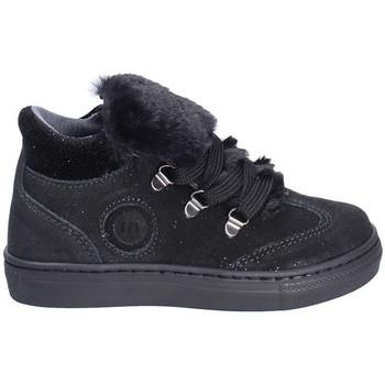 kengät Lapset Korkeavartiset tennarit Melania ME2406D8I.C Musta