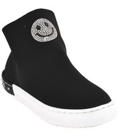 kengät Lapset Korkeavartiset tennarit Holalà HS0015T0002J Musta