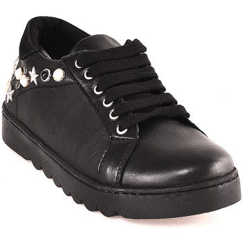kengät Lapset Matalavartiset tennarit Holalà HS0035L0002J Musta