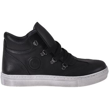 kengät Lapset Korkeavartiset tennarit Melania ME6406F8I.A Musta