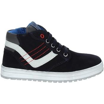 kengät Lapset Korkeavartiset tennarit Asso 68709 Sininen