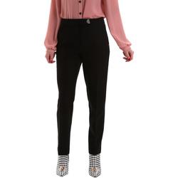 vaatteet Naiset Chino-housut / Porkkanahousut Gaudi 921FD25001 Musta