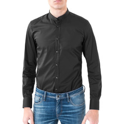 vaatteet Miehet Pitkähihainen paitapusero Antony Morato MMSL00376 FA450001 Musta