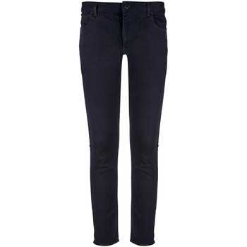 vaatteet Miehet Skinny-farkut Calvin Klein Jeans K10K102968 Musta