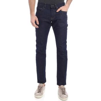 vaatteet Miehet Slim-farkut Calvin Klein Jeans K10K102969 Sininen