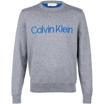 vaatteet Miehet Neulepusero Calvin Klein Jeans K10K102997 Harmaa