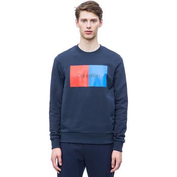 vaatteet Miehet Svetari Calvin Klein Jeans K10K103498 Sininen