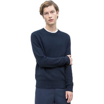 vaatteet Miehet Neulepusero Calvin Klein Jeans K10K103324 Sininen