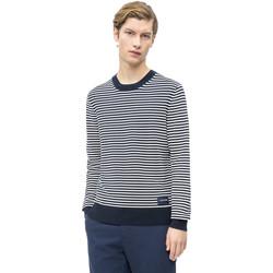 vaatteet Miehet Neulepusero Calvin Klein Jeans K10K103327 Sininen