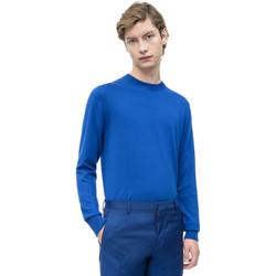 vaatteet Miehet Neulepusero Calvin Klein Jeans K10K103690 Sininen