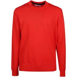 vaatteet Miehet Neulepusero Calvin Klein Jeans K10K103690 Punainen