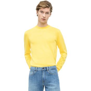 vaatteet Miehet Neulepusero Calvin Klein Jeans K10K103690 Keltainen