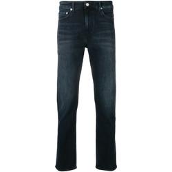 vaatteet Miehet Slim-farkut Calvin Klein Jeans J30J311732 Sininen