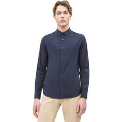 vaatteet Miehet Pitkähihainen paitapusero Calvin Klein Jeans J30J312439 Sininen