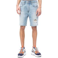 vaatteet Miehet Shortsit / Bermuda-shortsit Calvin Klein Jeans J30J310950 Sininen