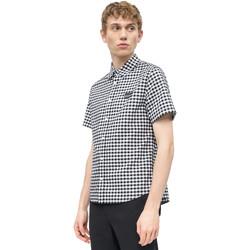 vaatteet Miehet Lyhythihainen paitapusero Calvin Klein Jeans J30J311492 Valkoinen