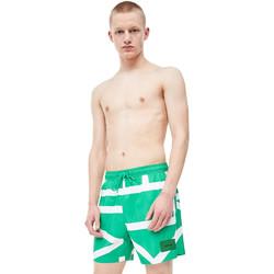 vaatteet Miehet Uima-asut / Uimashortsit Calvin Klein Jeans KM0KM00274 Vihreä