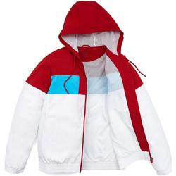 vaatteet Miehet Pusakka Calvin Klein Jeans 00GMH8O534 Valkoinen