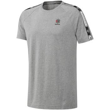 vaatteet Miehet Lyhythihainen t-paita Reebok Sport DT8146 Harmaa