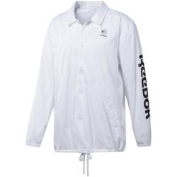 vaatteet Miehet Ulkoilutakki Reebok Sport DT8203 Valkoinen