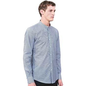 vaatteet Miehet Pitkähihainen paitapusero Antony Morato MMSL00526 FA430360 Sininen