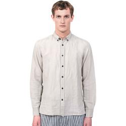 vaatteet Miehet Pitkähihainen paitapusero Antony Morato MMSL00530 FA400051 Harmaa