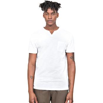 vaatteet Miehet Lyhythihainen t-paita Antony Morato MMKS01487 FA100139 Valkoinen