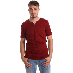 vaatteet Miehet Lyhythihainen t-paita Antony Morato MMKS01487 FA100139 Punainen