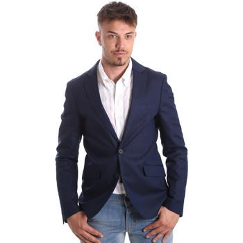 vaatteet Miehet Takit / Bleiserit Antony Morato MMJA00388 FA400060 Sininen